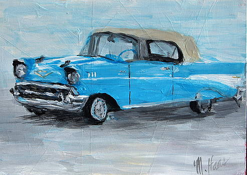 Blue Car by Mary Haas