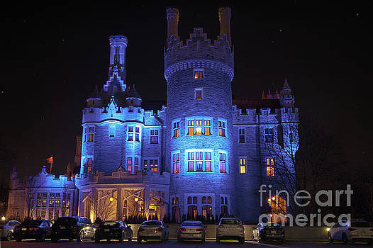 Blue Casa Loma by Audrey Wilkie