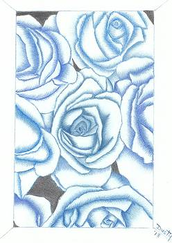 Blue Cascade by Dusty Reed