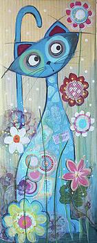 Blue Cat by Johanna Virtanen