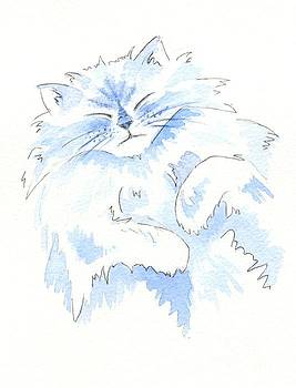 Blue Cat by Julia Underwood