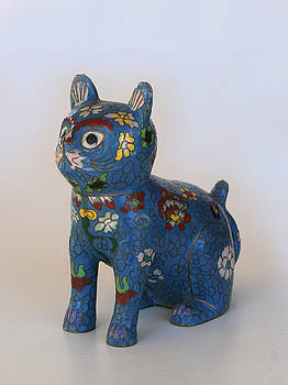 Blue Cat by Marna Edwards Flavell