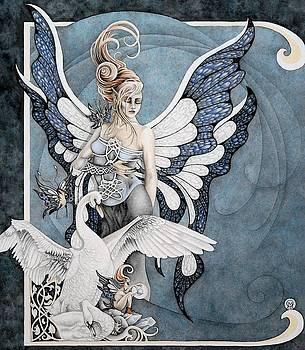 Blue Celestite by Ora  Moon