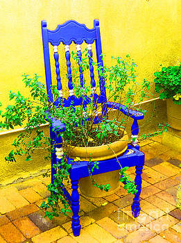 Blue Chair				 by Ann Johndro-Collins