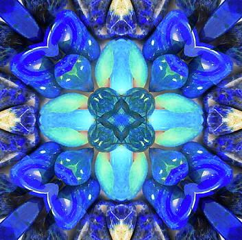 Blue Chakra by Jesus Nicolas Castanon
