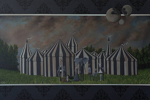 Blue Circus by Camille Singer