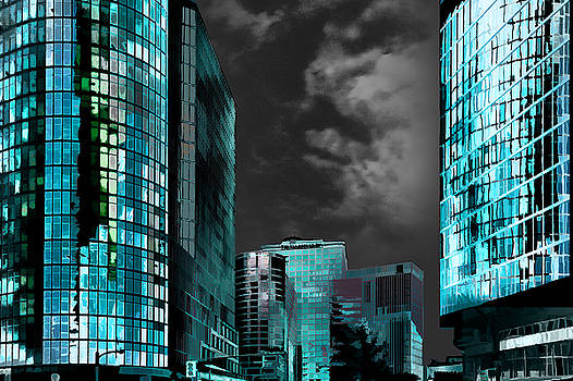 Blue City III by Neil Hemsley