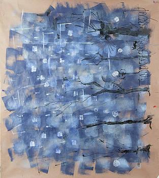Blue city by Maxim Komissarchik