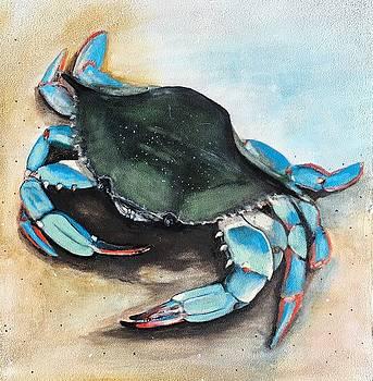 Blue Crab by Heather Gillmer