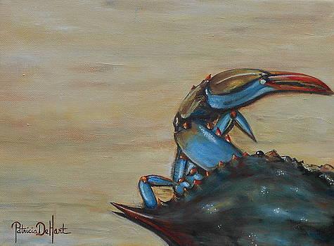 Blue Crab by Patricia DeHart