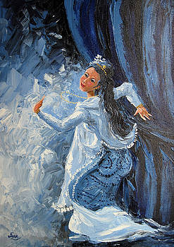 Blue Dance by Aung Min Min