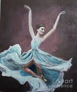 Blue Dancer by Shirley Lennon