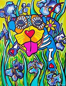 Blue Dawg by Mardi Claw