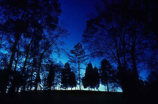 Blue Dawn by Gerard Fritz