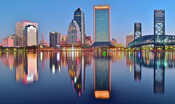 Frozen in Time Fine Art Photography - Blue Day in Jacksonville