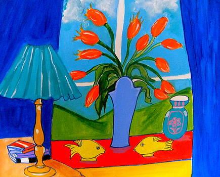 Blue Days by Rusty Woodward Gladdish