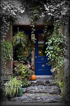 Blue Door #87 by Lorna Rande
