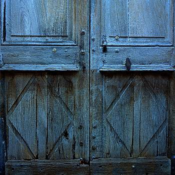 BERNARD JAUBERT - Blue door