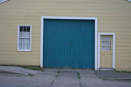 Blue Door by Dennis Curry