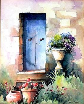 Blue door by Diane Agius Calleja
