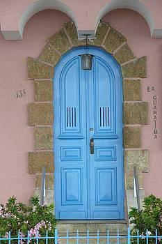 Blue door by Kathy Schumann