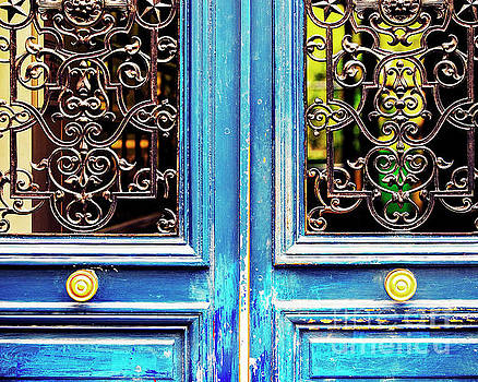 Blue Door by Katya Horner