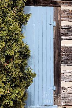 Blue Door by Kristi Beers-Mason