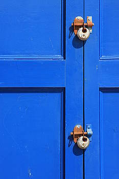 Blue Door Lock by Darren Kearney
