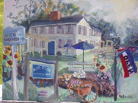 Blue Door Market And Cafe by Margaret Buchte