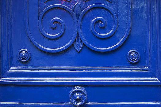 Art Block Collections - Blue Door Swirls