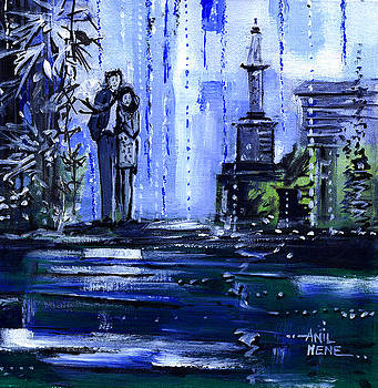 Blue Dream by Anil Nene