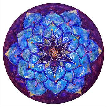 Blue Dream Lotus by Charlotte Backman