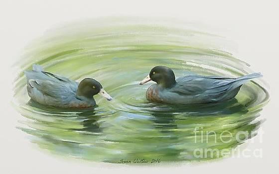 Blue Ducks  by Ivana Westin
