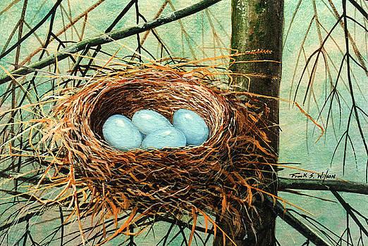 Frank Wilson - Blue Eggs In Nest