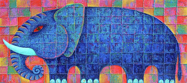 Blue Elephant  2007 by Opas Chotiphantawanon