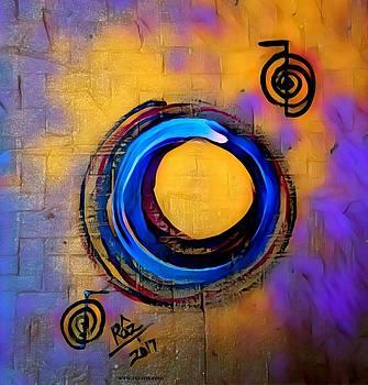 Rizwana A Mundewadi - Blue Enso