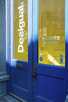 Blue Entrance by Michael Gallitelli