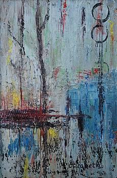 Blue Expressions by Beth Maddox