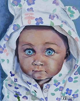Blue-eyed Baby by Melissa Torres