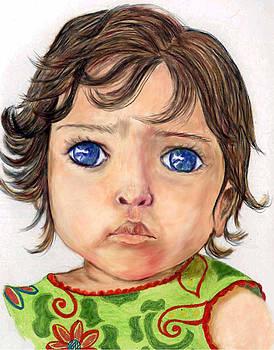 Blue Eyed Girl by Lenora Brown