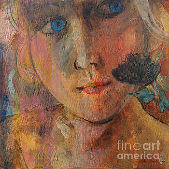Blue Eyed Girl by Robin Maria Pedrero