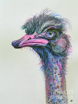 Zaira Dzhaubaeva - Blue-eyed Ostrich