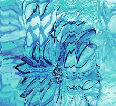 Anne-elizabeth Whiteway - Blue Fantasy Floral