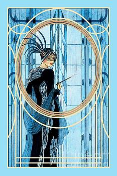 Blue Feathers by John Edwards