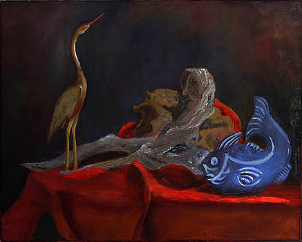 Blue Fish by Libby  Cagle