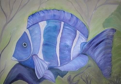 Blue Fish by Melanie Wadman