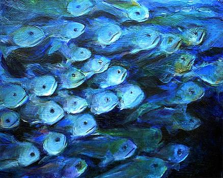 Blue Fish by Nanci Cook