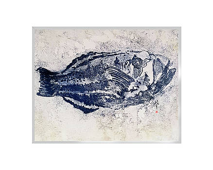 Blue Fish by Patricia Calabro
