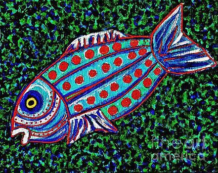Sarah Loft - Blue Fish