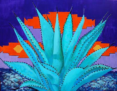 Blue Flame Companion 2 by M Diane Bonaparte